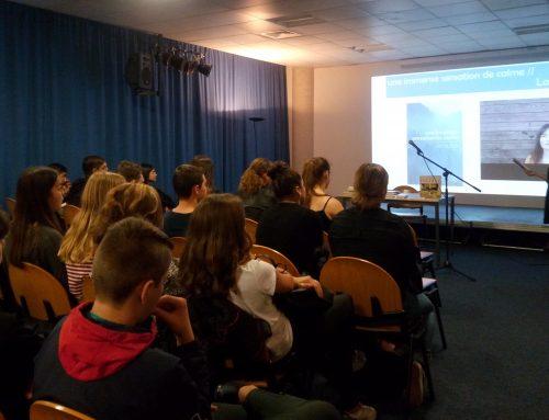 Réunion de lancement du Prix pour les lycéens de Cavaillon