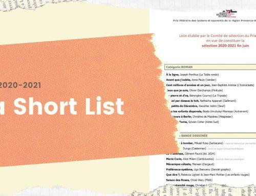 Sélection 2020-2021: la Short List!