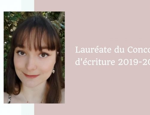 Lauriane Falugi, Lauréate du Concours d'écriture