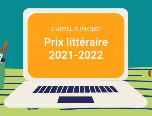 L'appel àcandidature pour le Prix 2021-2022 est en ligne!