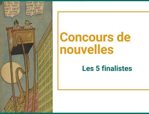 Les finalistes du Concours d'écriture 2021!