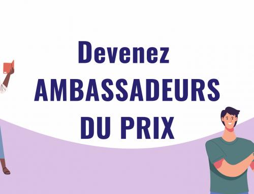 Juré(e)s, devenez Ambassadeurs du Prix!